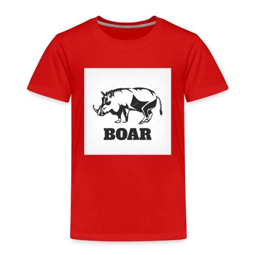 Dzik #1 - Koszulka dziecięca Premium