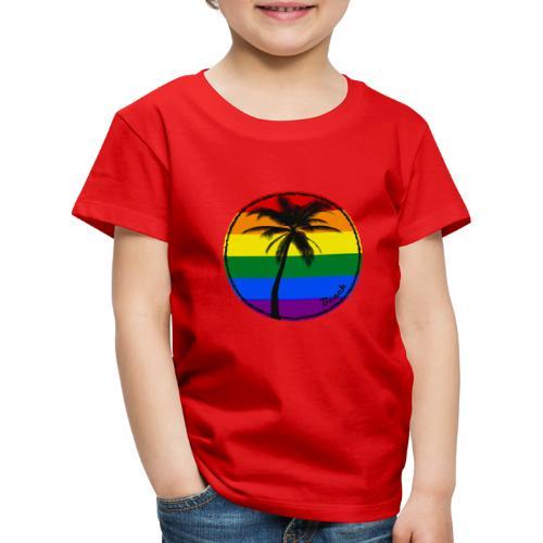 Beach sunny rainbow - Koszulka dziecięca Premium