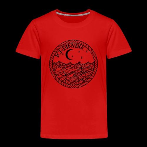 IBV Die Lichter das Meer black - Kinder Premium T-Shirt