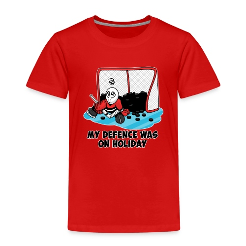 My Defence Was On Holiday - Kids' Premium T-Shirt