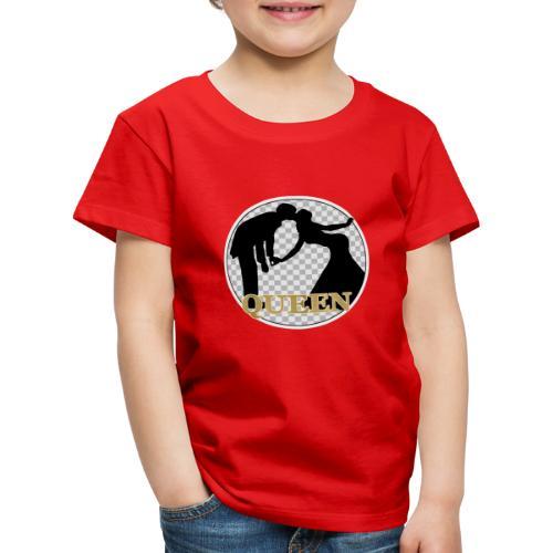 Queen mit Paar - Kinder Premium T-Shirt
