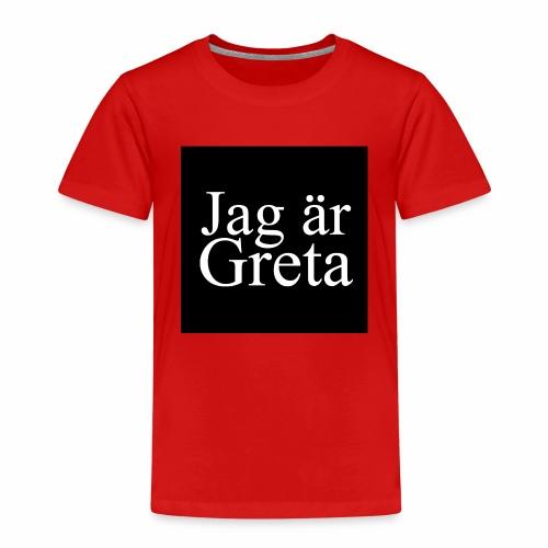 Button Greta - Kinder Premium T-Shirt