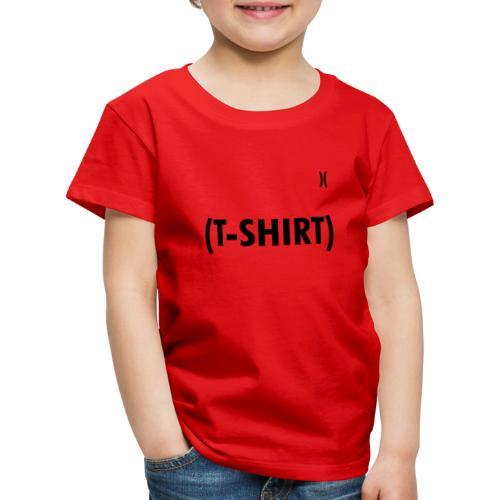 IN-BRACKETS (T-SHIRT) - Maglietta Premium per bambini