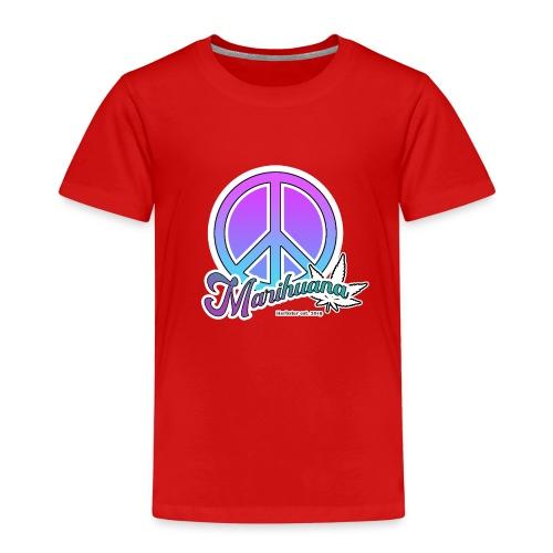 Peace and leafes - Kinder Premium T-Shirt