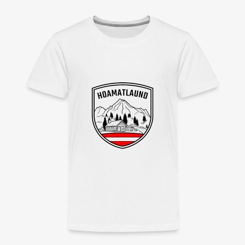 hoamatlaund österreich - Kinder Premium T-Shirt