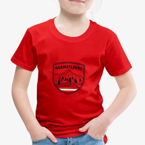 hoamatlaund logo - Kinder Premium T-Shirt