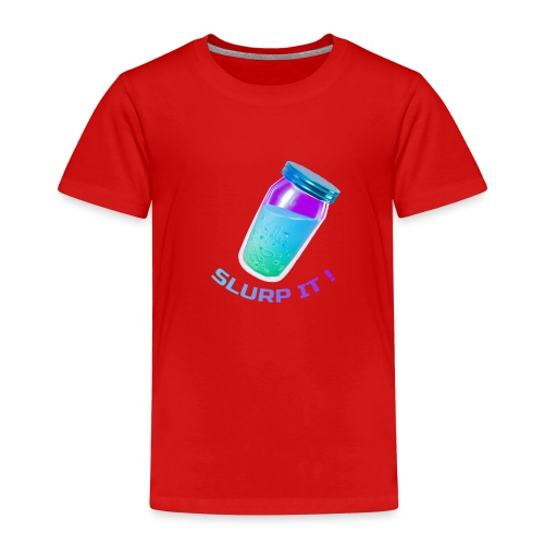 Slurp It - Fort nite - Kinder Premium T-Shirt