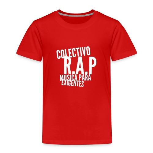 SOLO PARA AMANTES DEL RAP// Colectivo R.A.P - Camiseta premium niño