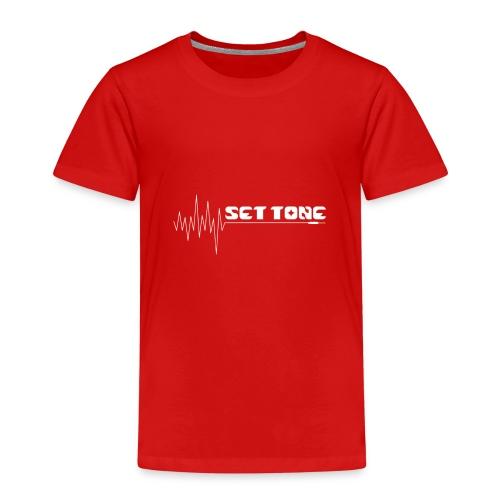 logo wit set tone 300dpi - Kinderen Premium T-shirt