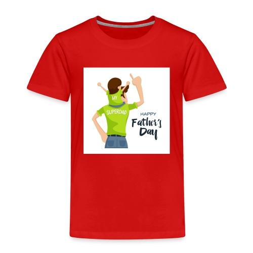 Pngtree precious happy moment with superdad 35709 - T-shirt Premium Enfant
