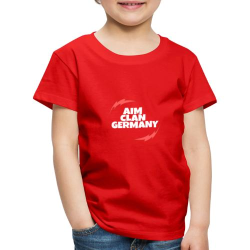 AIM CLAN GERMANY LOGO - Kinder Premium T-Shirt