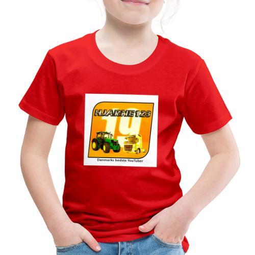 hjarne 123 danmarks bedeste youtuber - Børne premium T-shirt