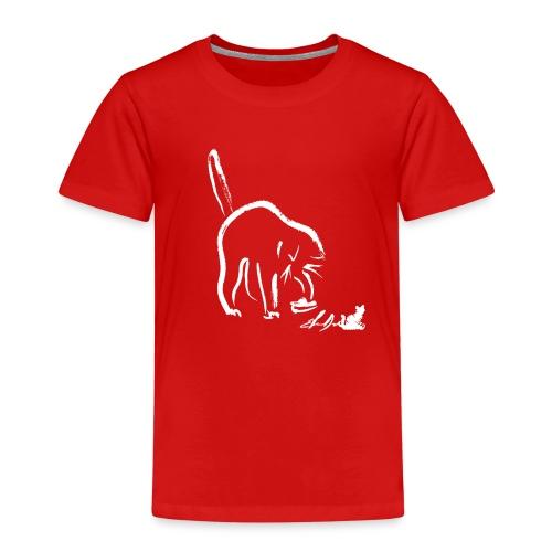 GATTO CHE GIOCA - Maglietta Premium per bambini