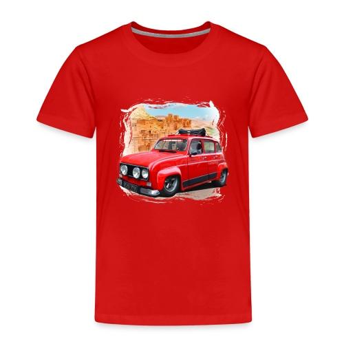 R4 4L prête au départ pour le Raid dans le désert - T-shirt Premium Enfant