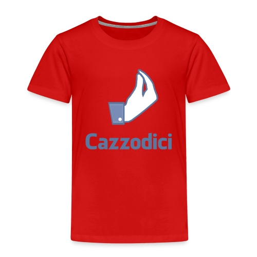 cazzodici - Maglietta Premium per bambini