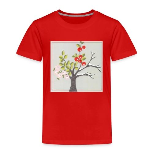 Die vier Jahreszeiten. Frühling bis Winter - Kinder Premium T-Shirt