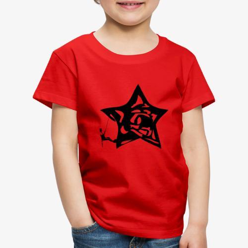 Rapel desde estrella - Star Rappel - Climb - Kids' Premium T-Shirt