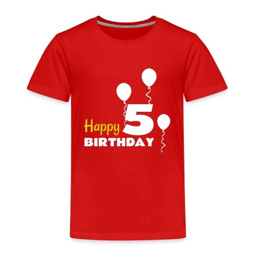 HAPPY birthday5 - Camiseta premium niño