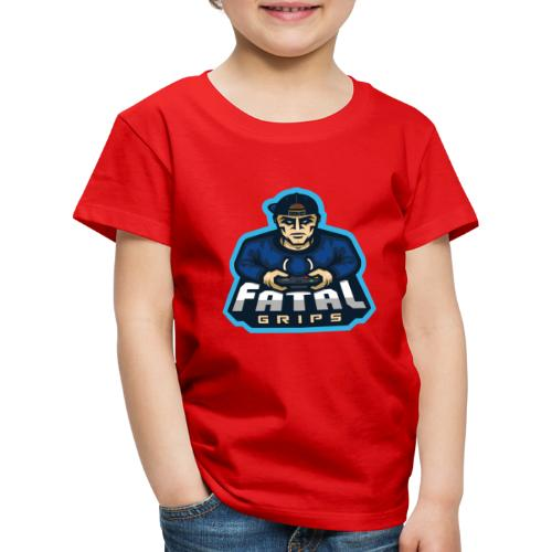 Fatal Grips Merch - Premium-T-shirt barn