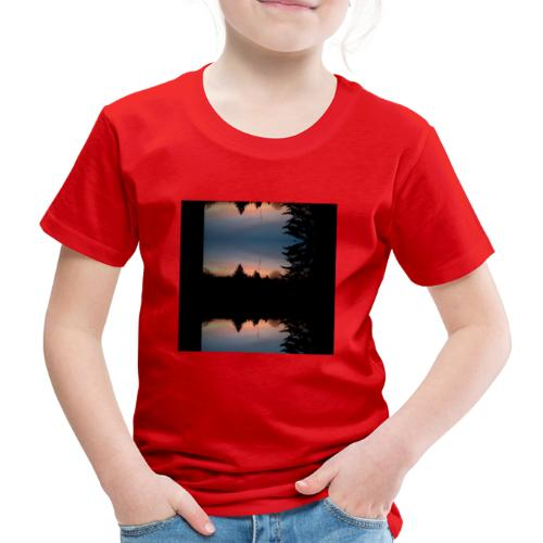 Sonnenhorizont Spiegelung Heller - Kinder Premium T-Shirt