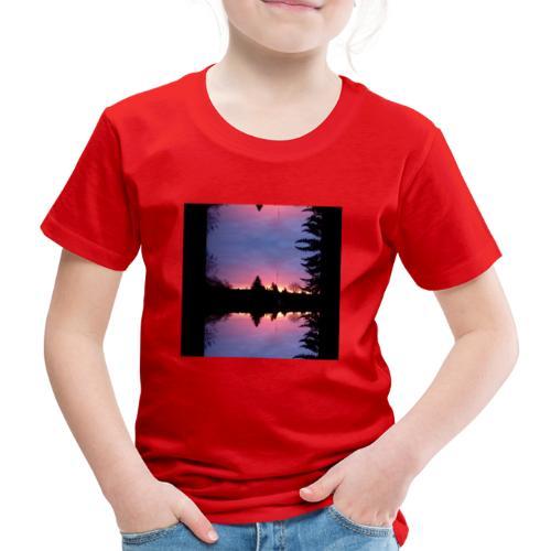 Gott ist Gut - Morgenrot - Kinder Premium T-Shirt