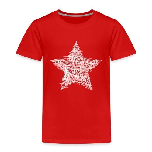 Estrella blanca - Camiseta premium niño