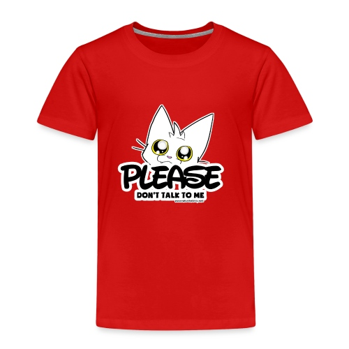 Please Don't Talk To Me - Kids' Premium T-Shirt