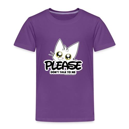 Please Don't Talk To Me - Kids' Premium T-Shirt