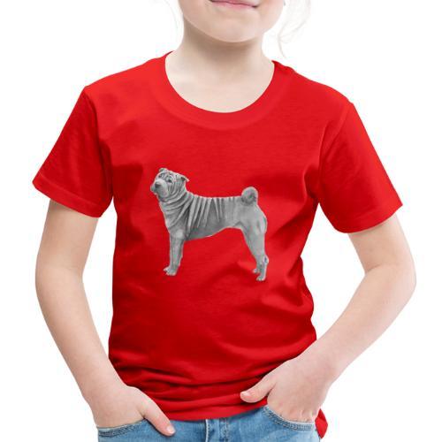 shar pei - Børne premium T-shirt
