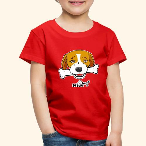 Nice Dogs Semolino - Maglietta Premium per bambini