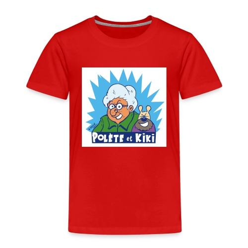 tshirt polete et kiki 1 - T-shirt Premium Enfant
