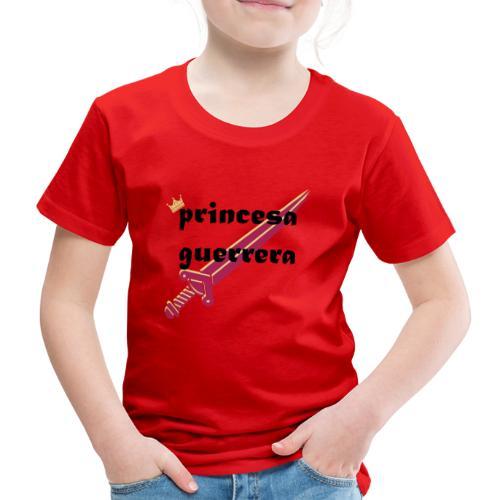 PRINCESA GUERRERA4 - Camiseta premium niño