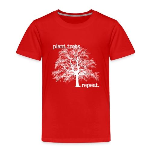 Plant Trees. Repeat. - Premium-T-shirt barn