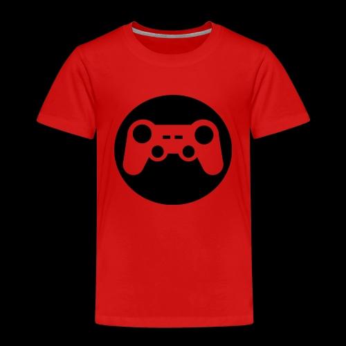 Zocker Prototype (Controller) Logo schwarz - Kinder Premium T-Shirt