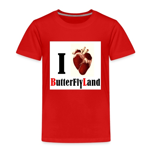 I love Butterflyland - T-shirt Premium Enfant