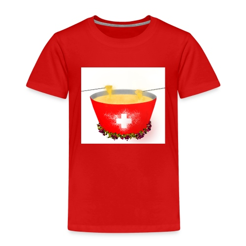 Einzigartiges Schweizer Fondue T-Shirt - Kinder Premium T-Shirt
