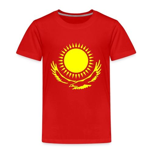 Kasachstan-Wappensymbol - Kinder Premium T-Shirt