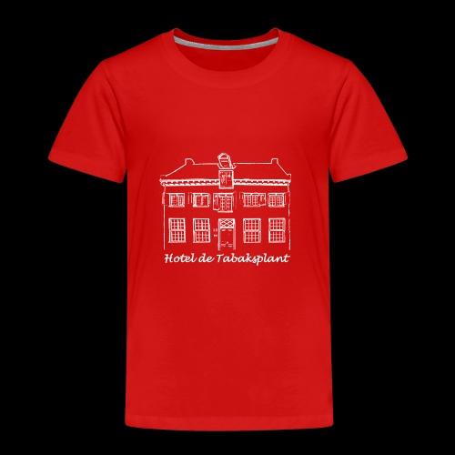 Hotel de Tabaksplant WIT - Kinderen Premium T-shirt