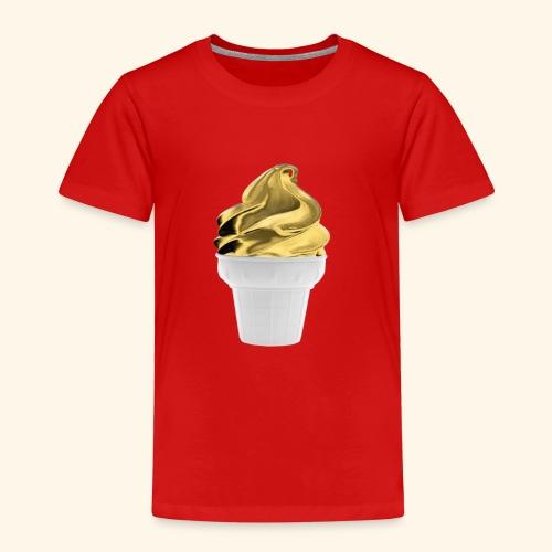 Diseño dorado oro - Camiseta premium niño
