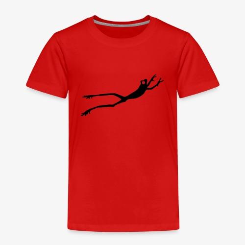 Black Frog - Premium T-skjorte for barn