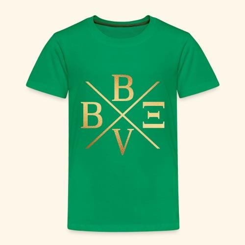 BVBE Gold X Factor - Kids' Premium T-Shirt