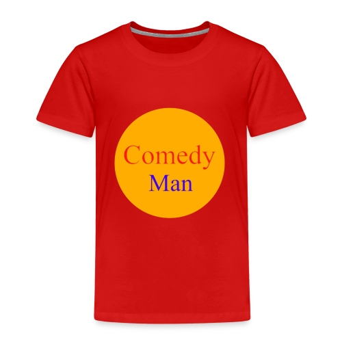 comedy man logo - Kinderen Premium T-shirt