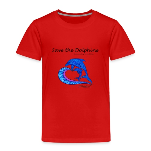 Save the Dolphins - Kinder Premium T-Shirt