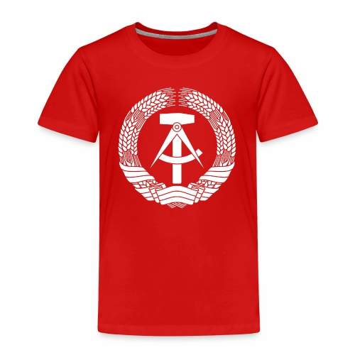 DDR Coat of Arms (white) - Kids' Premium T-Shirt