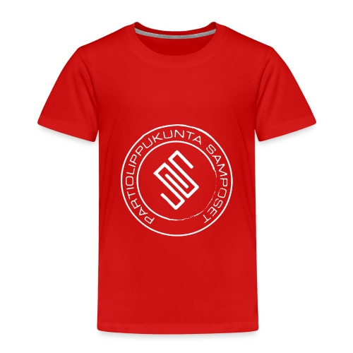 Leima läpinäkyvä - Lasten premium t-paita