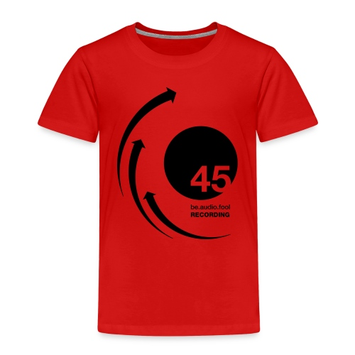 45 be.audio.fool Recording - Kinder Premium T-Shirt