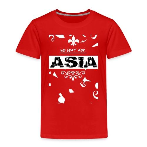 BACK 2 3 png - Kinderen Premium T-shirt