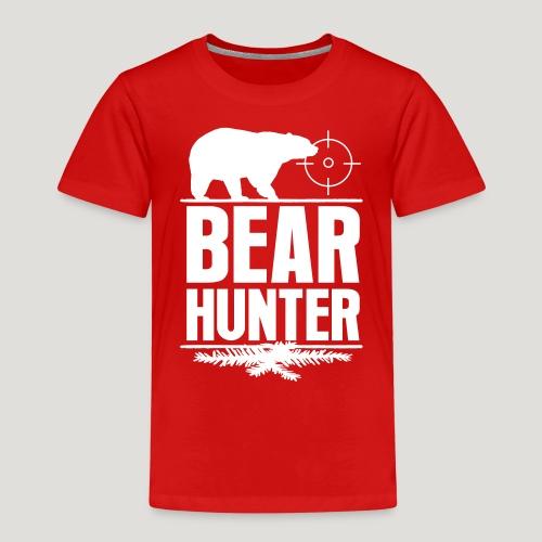 Jäger Shirt Bären Jäger - Bear Hunter Jagd Wild - Kinder Premium T-Shirt
