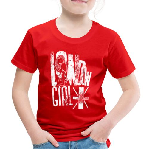 London Girl - Kinder Premium T-Shirt