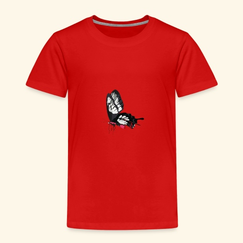 Sommerfugl - Børne premium T-shirt